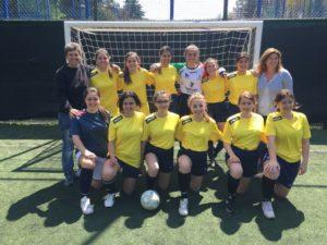 La squadra di calcio a cinque femminile